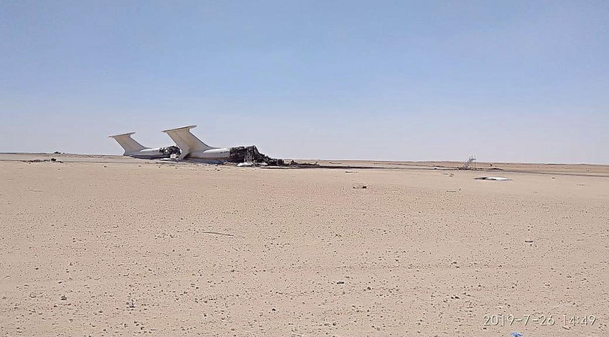 O que faziam os dois aviões ucranianos destruídos na Líbia?