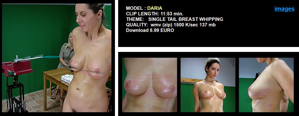 Daria -  Breast Whipping
