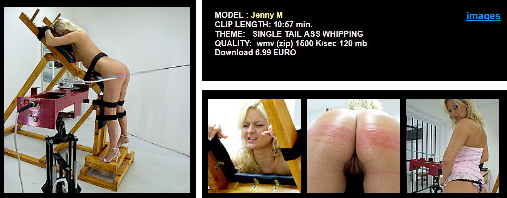 Jenny M - Ass Whipping